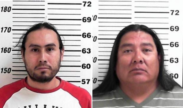 Anael Ibeanez (esq) e Terrill Holiday também foram presos (Foto: Davis County Sheriff's Office)