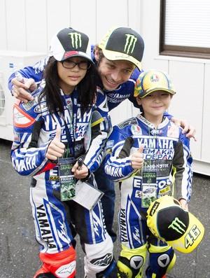 Valentino Rossi MotoGP fãs Motovelocidade (Foto  Agência Getty ... 05aa2671f1a9a