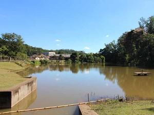 represa UFV Viçosa 13022015 (Foto: CCS/UFV)