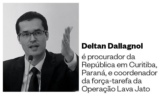DELTAN DALLAGNOL é procurador da República em Curitiba, Paraná, e coordenador da força-tarefa da Operação Lava Jato (Foto: Folhapress)