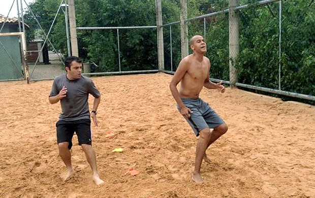 Alex Silva treino pré-temporada  (Foto: Divulgação)