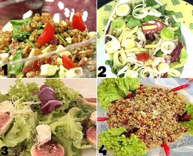 Saladas para o Verão (Foto: Mais Você/TV Globo)