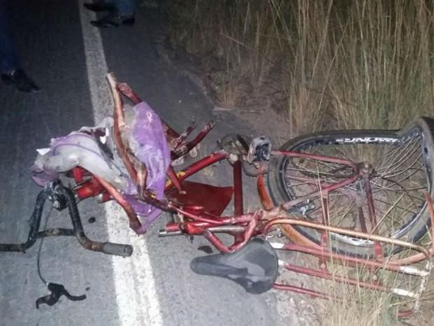 Perícia aponta que ciclista foi atropelado de forma traseira, diz polícia (Foto: Sulbahianews / Uinderlei Guimarães)