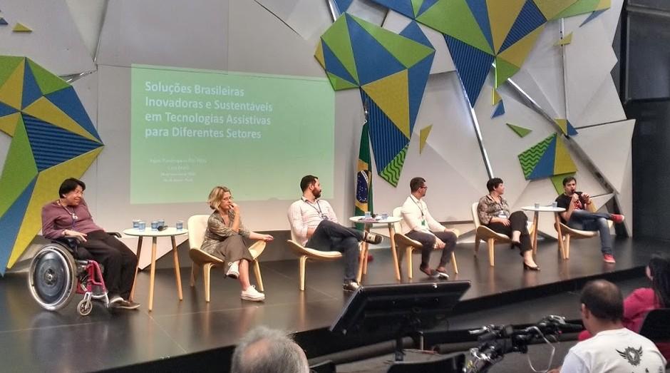Seminário de tecnologias assistivas: evento acontece na Casa Brasil, no Rio de Janeiro (Foto: Fabiano Candido)