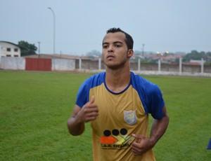 Dodô, atacante do Espigão na Copinha (Foto: Jakson Binas/Divulgação)
