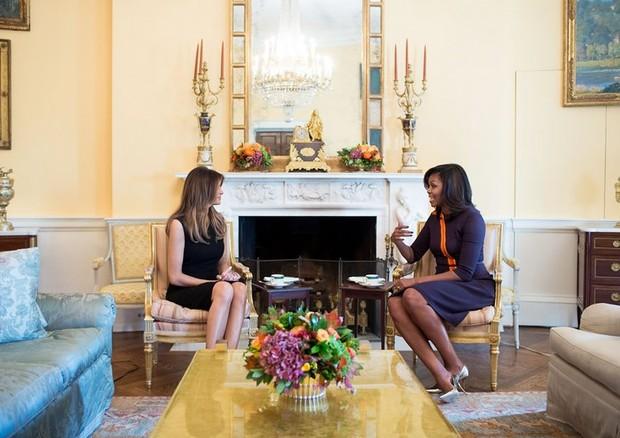 Melania Trump e Michelle Obama (Foto: Divulgação)