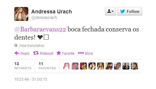 Andressa Urach (Foto: Twitter/Reprodução)