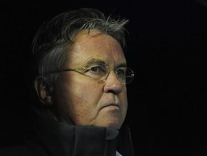 Guus Hiddink técnico do Anzhi (Foto: Getty Images)