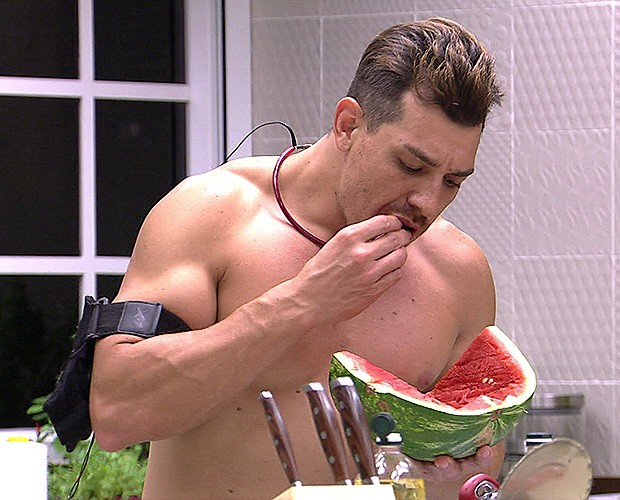 Cézar Comendo (Foto: TV Globo)