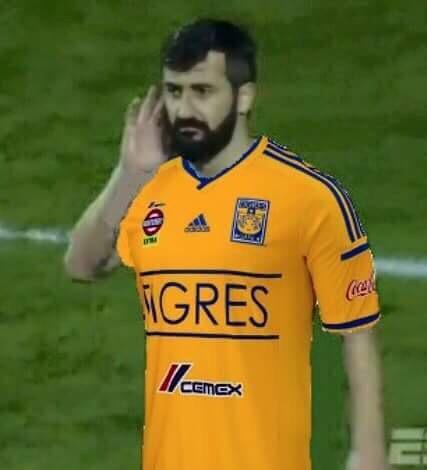 Tigres Inter corneta Libertadores (Foto: Reprodução/Twitter)