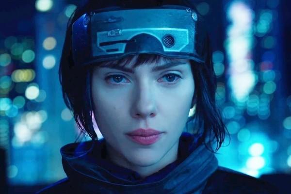 Scarlett Johansson em A Vigilante do Amanhã: Ghost in the Shell (2017) (Foto: Divulgação)