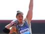 Cara de brava, 1,93m e 120kg: Valerie se impõe no Rio para sanar frustração