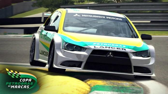 Simulador de corrida gratuito Petrobras Marcas chegará ao Steam em breve (Foto: Reprodução/Car Gaming Blog)