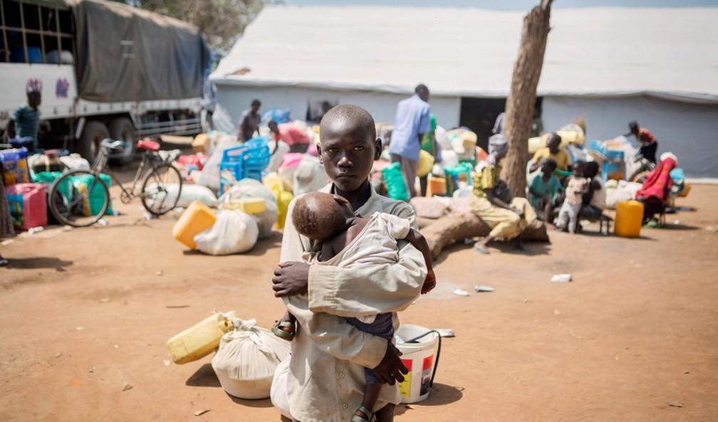 Mais de 10 milhões de pessoas foram obrigadas a deixar suas casas pela primeira vez em 2016 (Foto: Alessandro Penso/UNHCR)