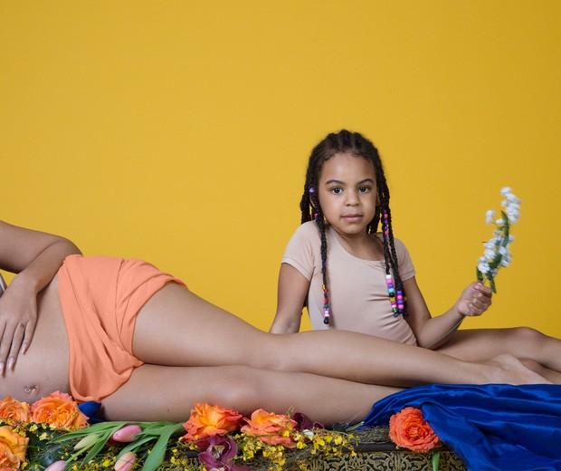 """Beyoncé anuncia gravidez de gêmeos com ensaio """"Eu Tenho Três Corações""""  (Foto: Reprodução)"""