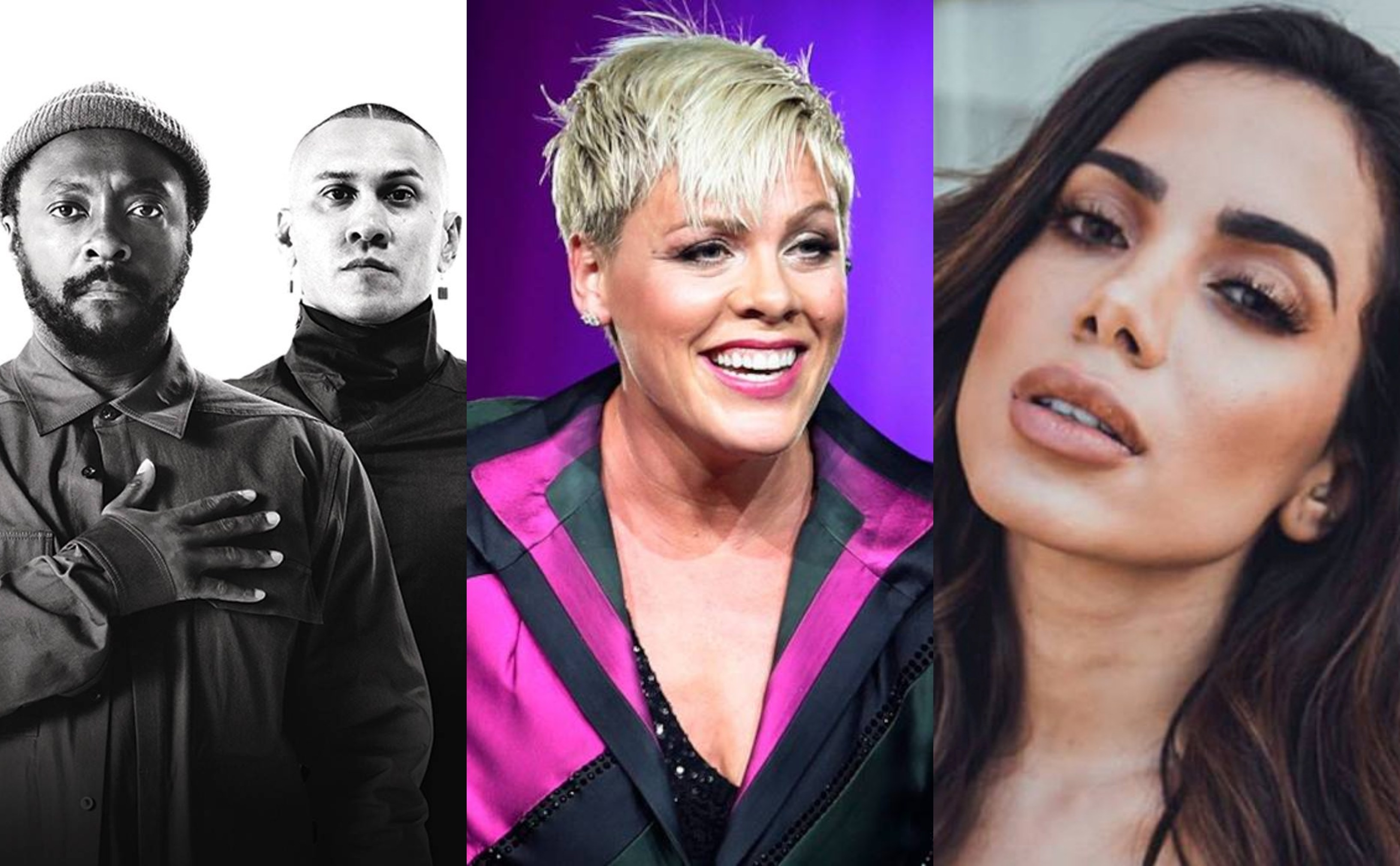 Black Eyes Peas, Pink e Anitta so atraes confirmadas para o dia 'Pop' do Rock in Rio 2019 (Foto: Divulgao)