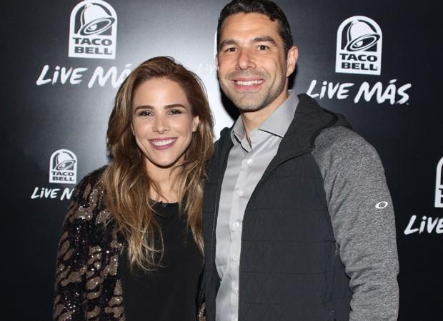 Wanessa e Marcus Buaiz (Foto: Thiago Duran/AgNews)