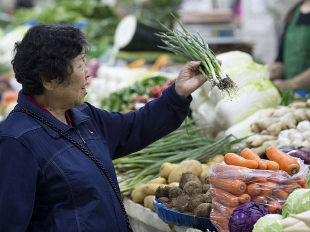 Inflação na China dá sinais de fraqueza  (Foto: Reuters)