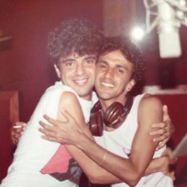 Lulu Santos e Caetano Veloso (Foto: Instagram/Reprodução)