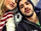 Gusttavo Lima posa com a noiva em avião: 'Decolando com destino a NY'