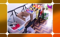 ONG distribui mini kits de higiene