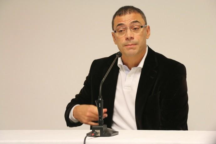clemer inter internacional técnico coletiva despedida saída (Foto: Eduardo Deconto/GloboEsporte.com)