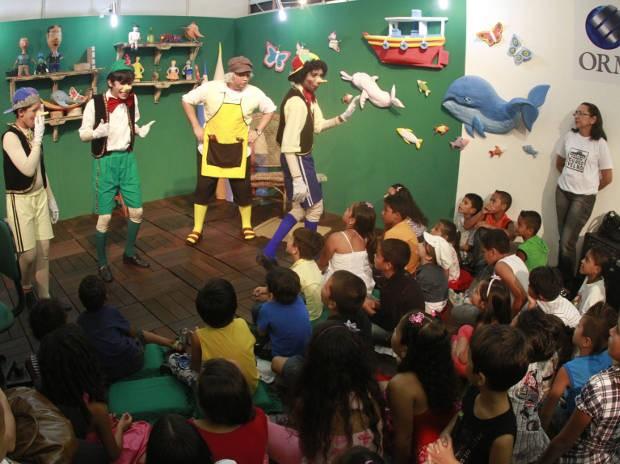 Programação infantil promete ser destaque na Feira Pan-Amazônica este ano (Foto: Carlos Borges / O Liberal)