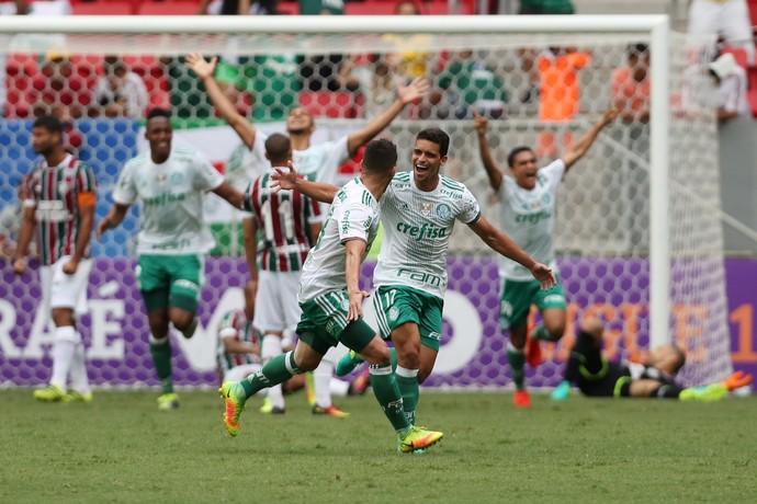 Palmeiras x Fluminense (Foto: Michel Filho/Agência O Globo)