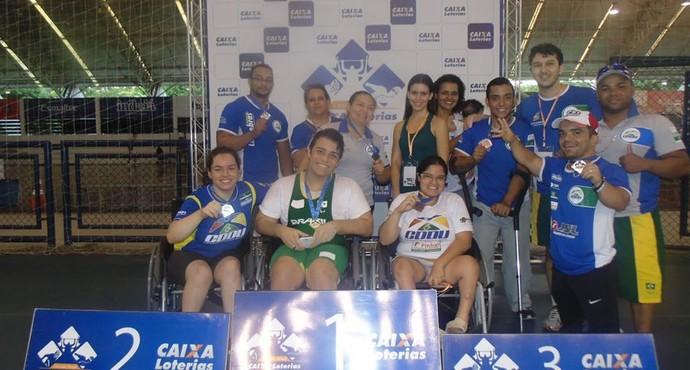 Equipe de halterofilismo de Uberlândia (Foto: Divulgação/CDDU)