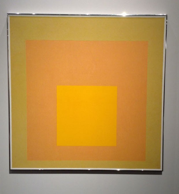 Josef Albers Homage to the Square, 1971 David Zwirner Gallery, Londres e Nova York (Foto: Divulgação)