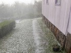 Dois municípios da Serra de SC são atingidos por granizo