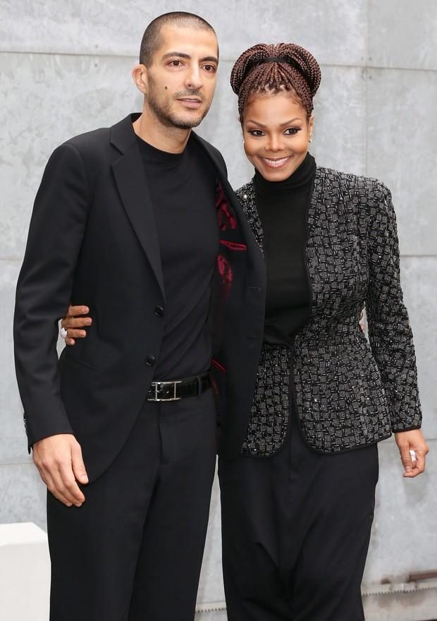 Wissam al Mana e Janet Jackson  (Foto: Agência/ Getty Images)