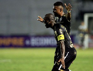 vitinho seedorf botafogo gol ponte preta brasileirão 2013 (Foto: Denny Cesare / Agência Estado)