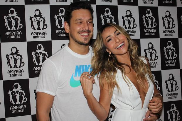 Sabrina Sato e João Vicente de Castro em evento em São Paulo (Foto: Celso Tavares / EGO)