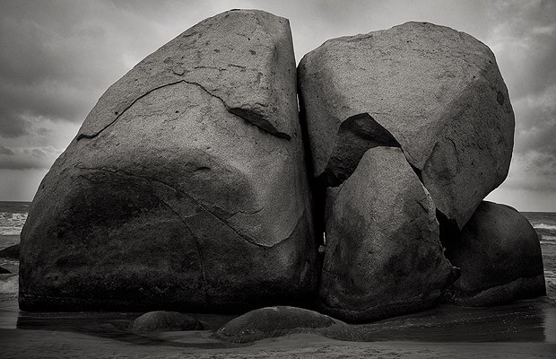 Pedras românticas na Colômbia (Foto: Reprodução)
