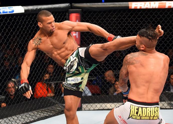 Thiago Marreta Steve Bossé UFC MMA Hollywood (Foto: Getty Images)