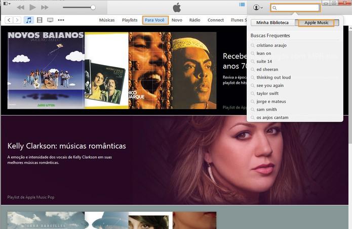 Acesse as músicas que preferir no Apple Music (Foto: Reprodução/Barbara Mannara)