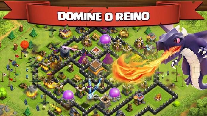 Clash of Clans é um dos jogos do iOS mais jogados de todos os tempos (Foto: Divulgação)