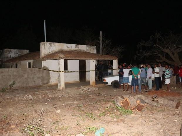 Crime aconteceu na casa do idoso em Baraúna (Foto: Marcelino Neto/O Câmera)