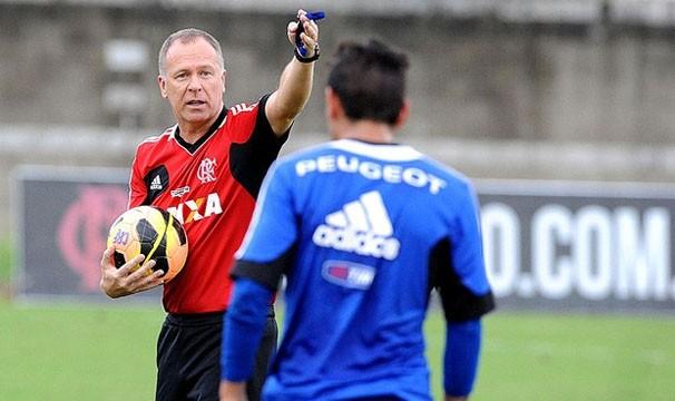 Mano faz seu segundo jogo pelo Flamengo nesta quarta (Foto: Alexandre Vidal / Fla Imagem / Reprodução: Globoesporte.com)