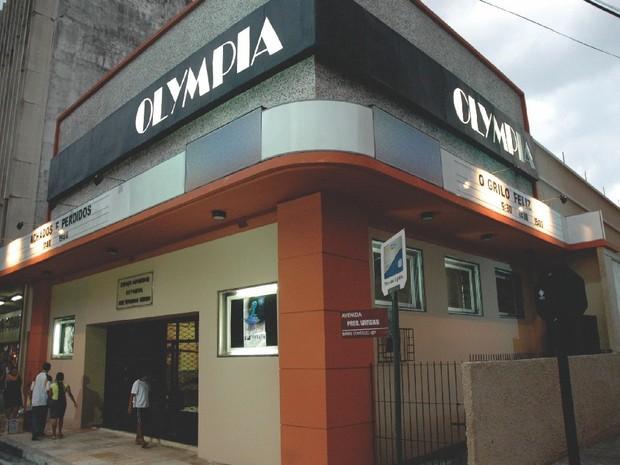 Fachada Atual Olympia (Foto: Acervo Cine Olympia/Divulgação)