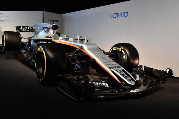 Force India VJ10 (Foto: Divulgação)
