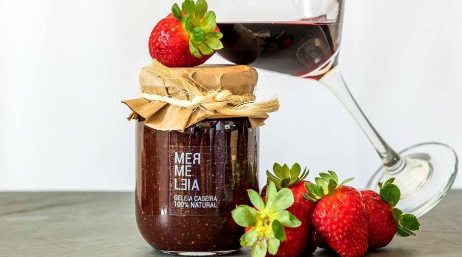 As geleias artesanais da Mermeleia são feitas com 75% de frutas e não levam conservantes  (Foto: Divulgação)