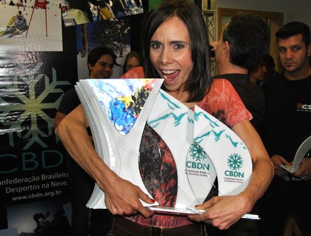 Jaqueline Mourão prêmio CBDN (Foto: João Gabriel)