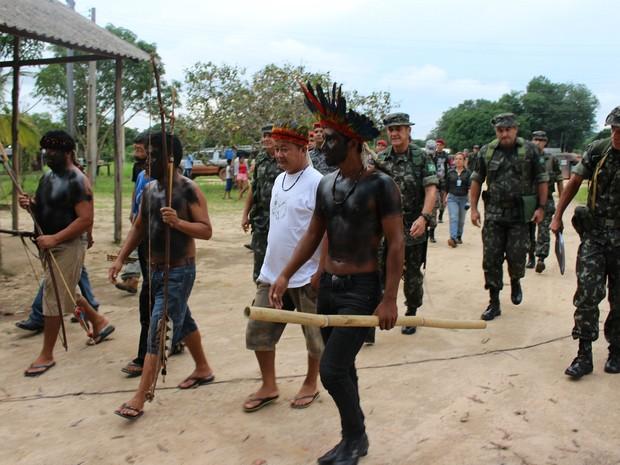 Pedágio deve voltar à rodovia no dia 10 de janeiro, segundo indígenas (Foto: Larissa Matarésio/G1)