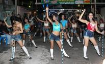 Foliões lotaram ruas em vários pontos da cidade. (Suelen Gonçalves/ G1 AM)