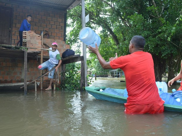 amapá; macapá; calçoene; bombeiros; defesa civil; (Foto: Rafael Aleixo/Rede Amazônica)