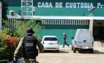Rebelião na Casa de Custódia tem tiros, incêndio, depredação e feridos (Fernando Brito/G1)