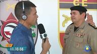 Candidatos fazem testes físicos para concurso da PM da Paraíba
