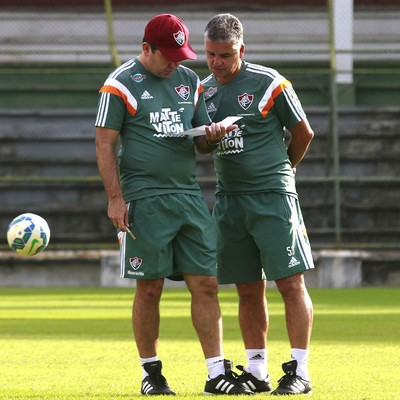 Enderson Moreira Fluminense Laranjeiras (Foto: Nelson Perez/Fluminense)